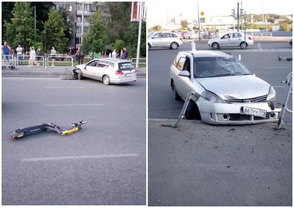 Авария произошла 8 июля в 19:03. Фото: ГИБДД