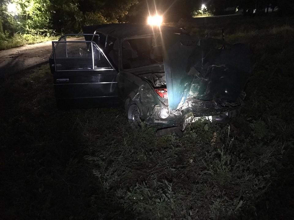 В Шигонском районе водитель разбил автомобиль и бросил его на месте ДТП. Фото - ГУ МВД России по Самарской области