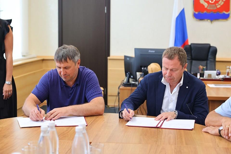 Администрация города Дзержинска и компания «Синтез Ока» подписали соглашение о сотрудничестве.