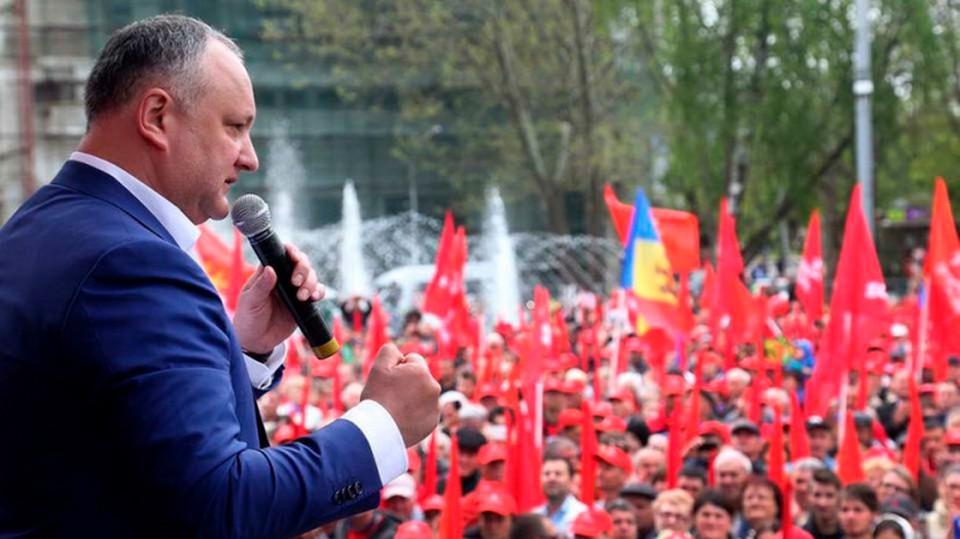 """Игорь Додон: """"Мы не должны допустить, чтобы кто-то даже подумал о том, что может издеваться над народом"""""""