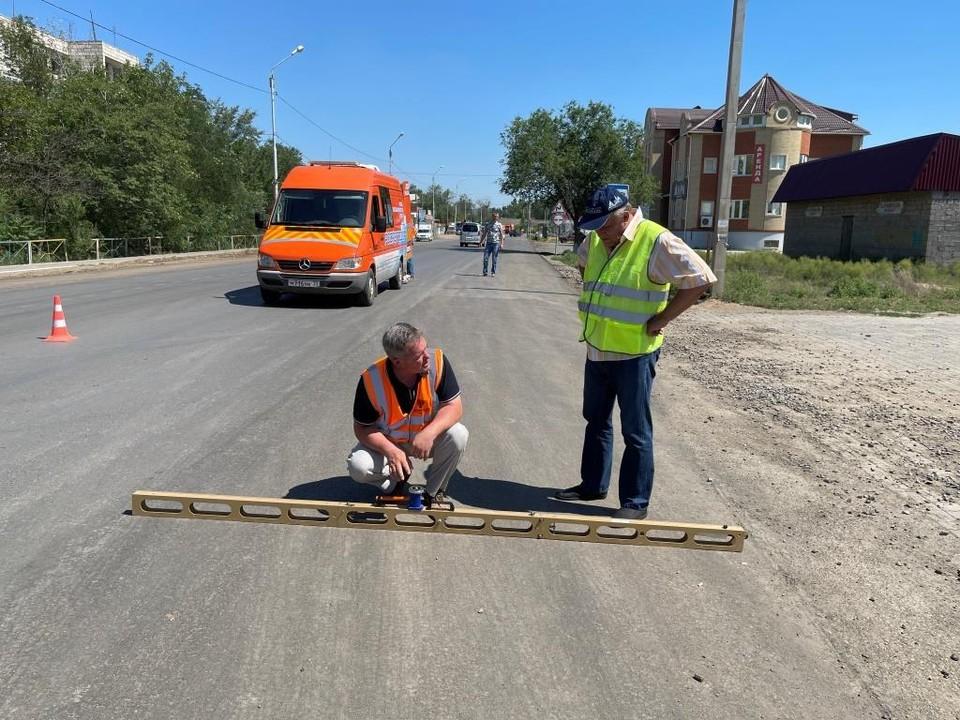 В Астраханской области проверяют итоги дорожных работ