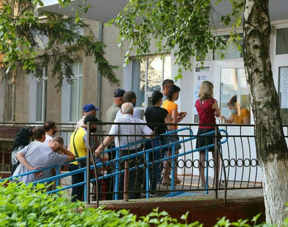 Голосование на Варнице. Фото: ТГ-канал Приднестровец.