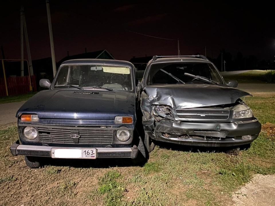 ДТП произошло ночью. Фото: ГУ МВД по Самарской области