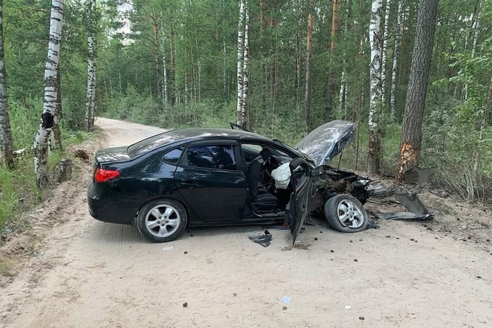 По предварительным данным, водитель был пьян. Фото: ГИБДД Марий Эл