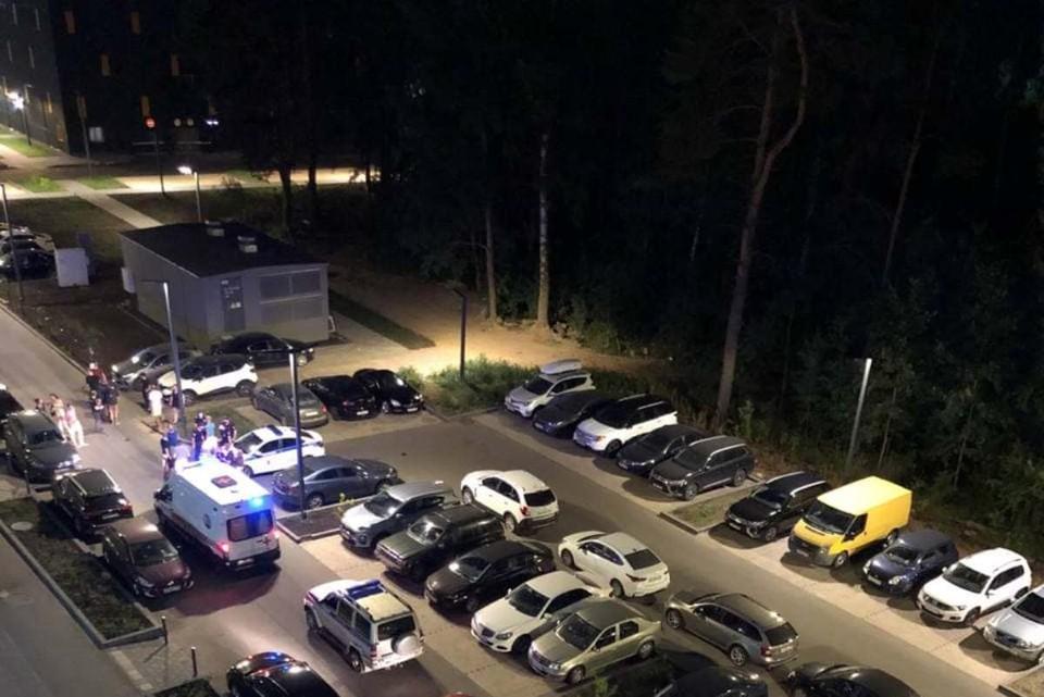 На место происшествия приезжала полиция Фото: t.me/orlovskiy_park