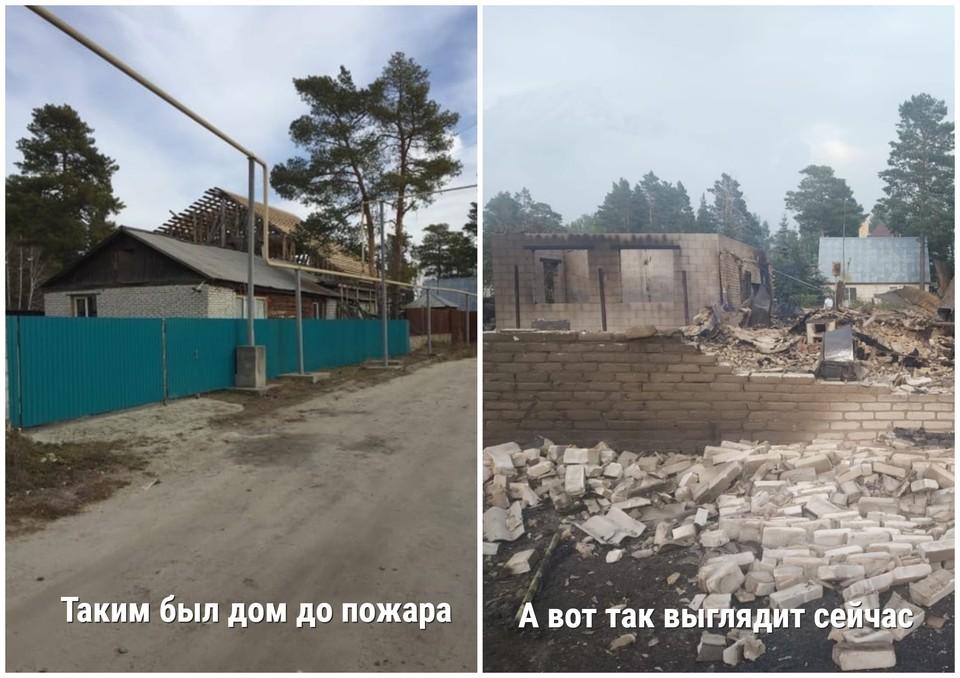 Для Владимира Буянова сгоревший дом был семейной реликвией. Фото: предоставлено героем