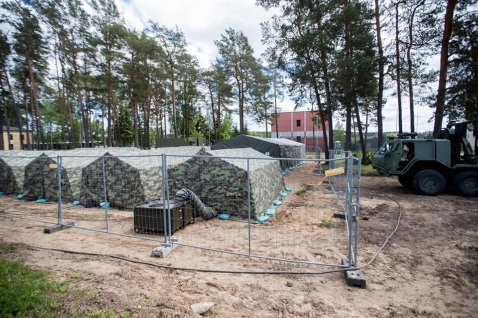 В Литве проблема с нелегальными мигрантами, идущими со стороны Беларуси. К решению подключаются силы ЕС. Фото: Делфи.