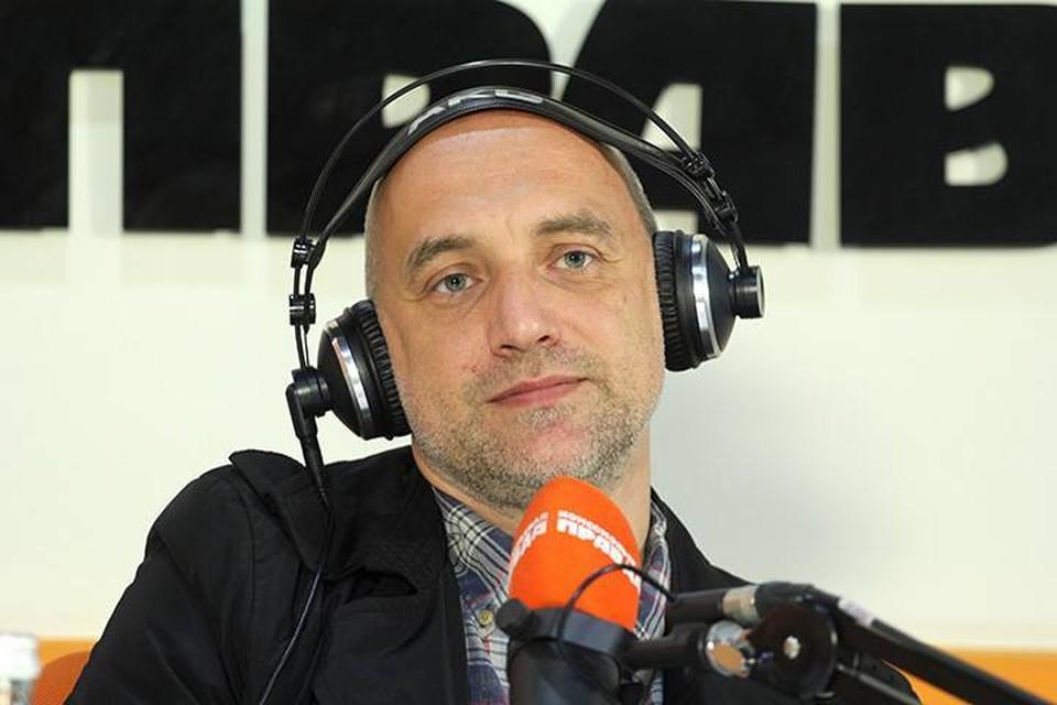 Писатель и общественный деятель Захар Прилепин прилетел в Иркутск