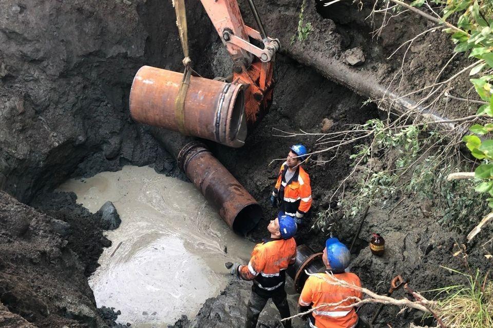 Без водоснабжения остались 18 домов. Фото: vk.com/narodnoetvx