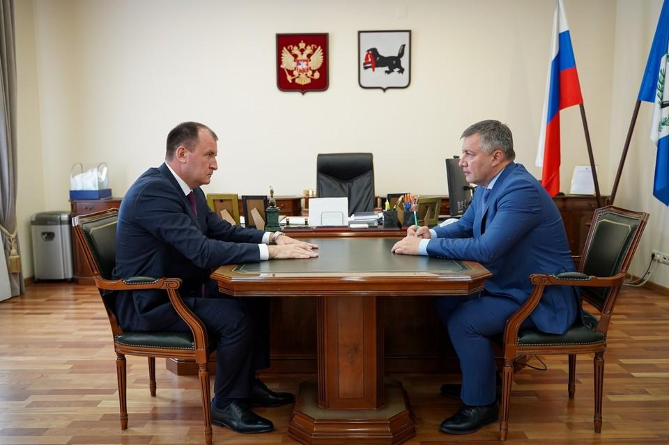Назначен новый министр лесного комплекса Иркутской области