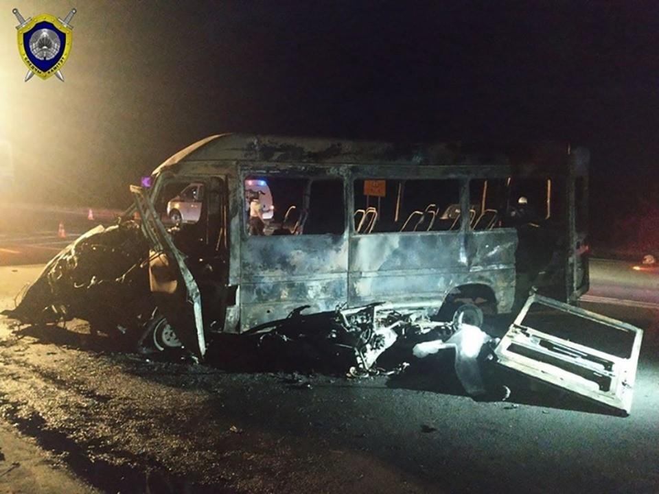 У погибшего водителя маршрутки Молодечно - Минск остались жена и трое детей. Фото: Следственный комитет