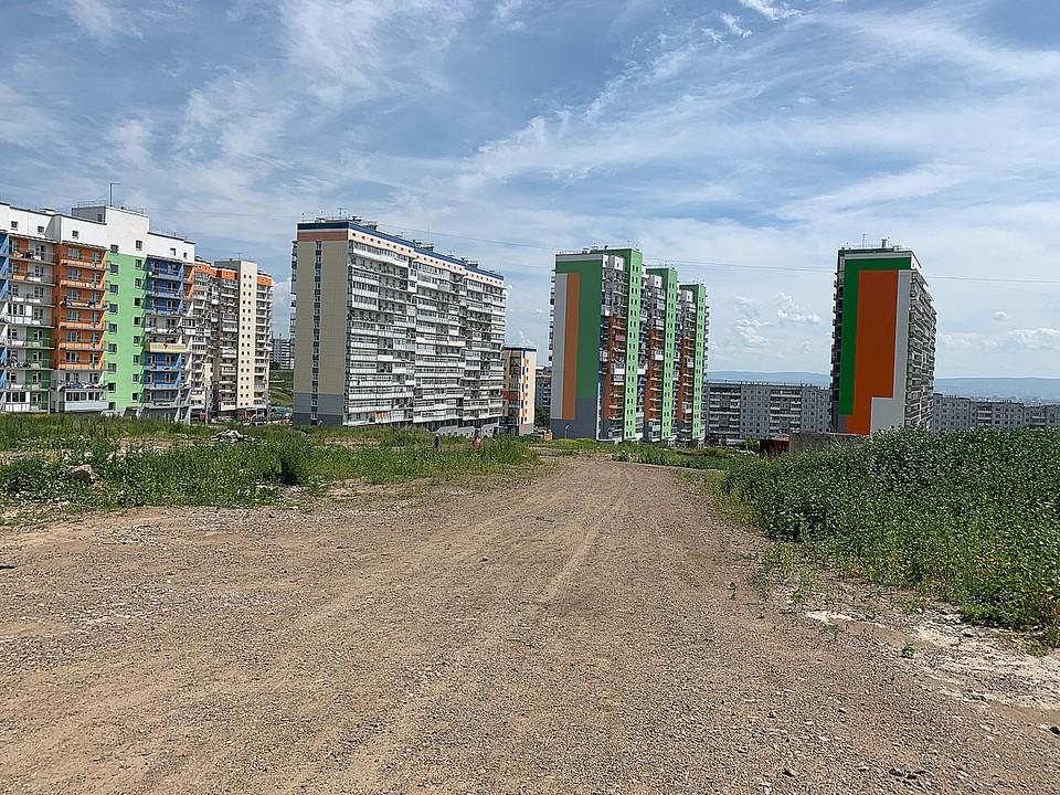 Место под будущую школу. Фото: администрация Советского района