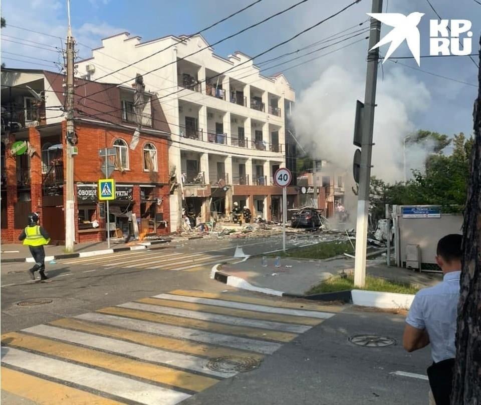 Взрыв газа в Геленджике