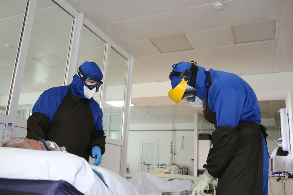 В Нефрологическом центре Тюмени коронавирусом заболели сразу 28 человек.