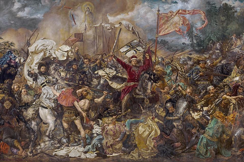 Битва при Грюндвальде на картине Яна Матейко. Фото: wikipedia.org