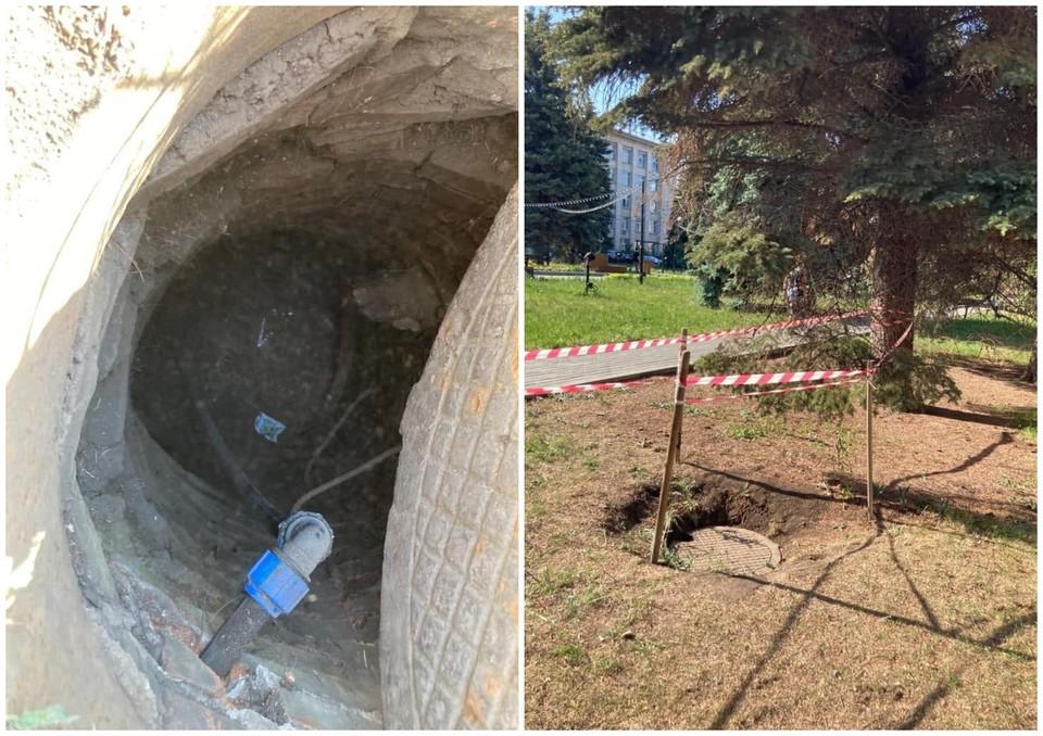 Ребенок провалился в колодец инженерных сетей. Фото: Прокуратура Челябинской области