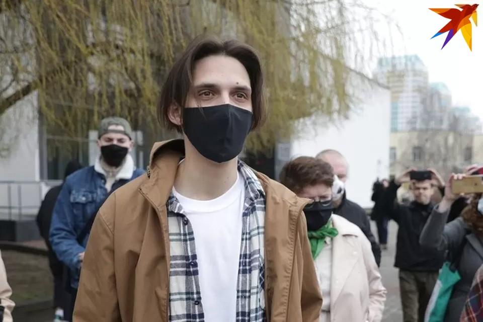 Тима Белорусских недавно вышел на свободу после суток на Окрестина