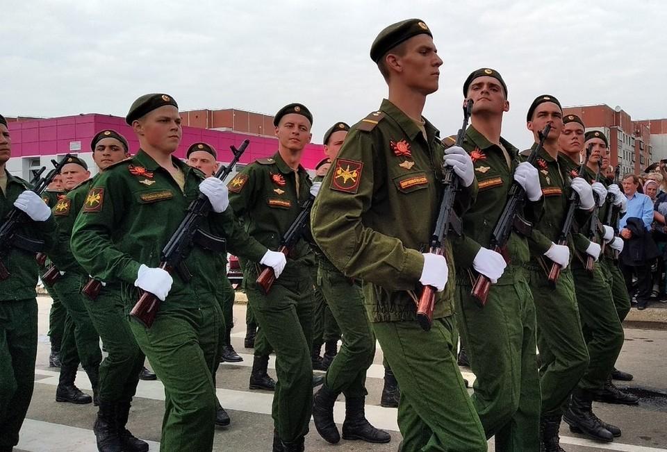 Большинство парней будут служить в Западном военном округе