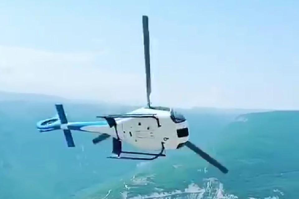 Пассажиры часто просят пилотов добавить немного экстрима. Фото: стоп-кадр видео с социальных сетей