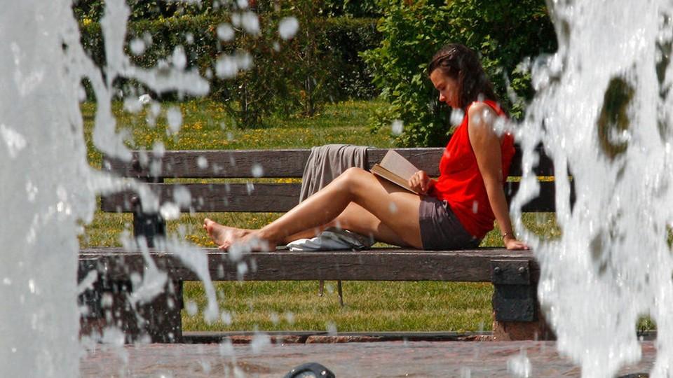 Вступил в силу «Жёлтый код» метеоопасности в связи с сильной жарой. Фото: соцсети
