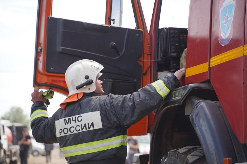 Под Новосибирском из горящего санатория спаслись 20 человек.