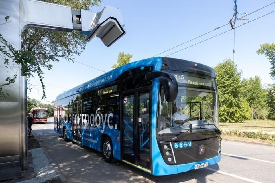 С полностью заряженным аккумулятором электробус может проехать 50 км. Фото: kzn.ru