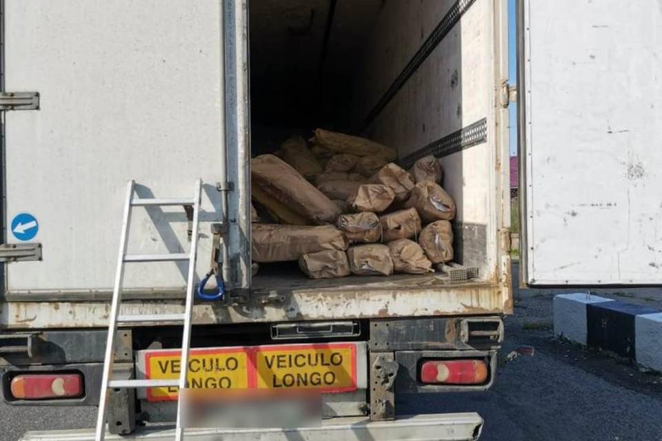 Грузовик со 100 килограммами байкальского омуля остановили в Слюдянке