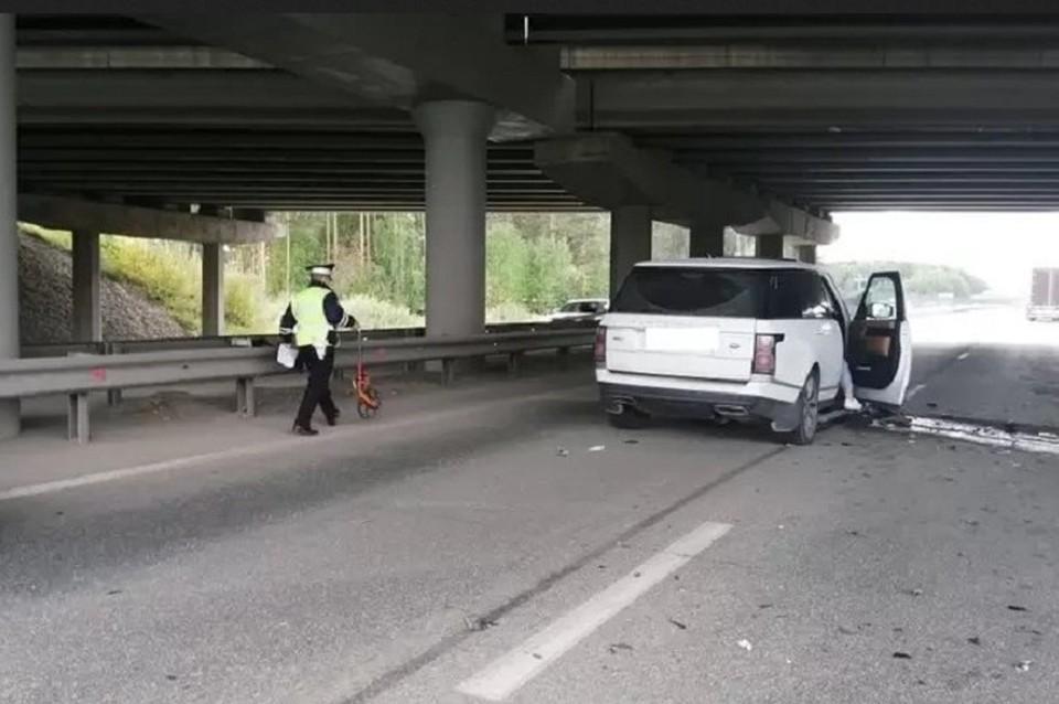 Мужчина устроил массовую аварию на трассе Фото: предоставлено В.Н. Горелых