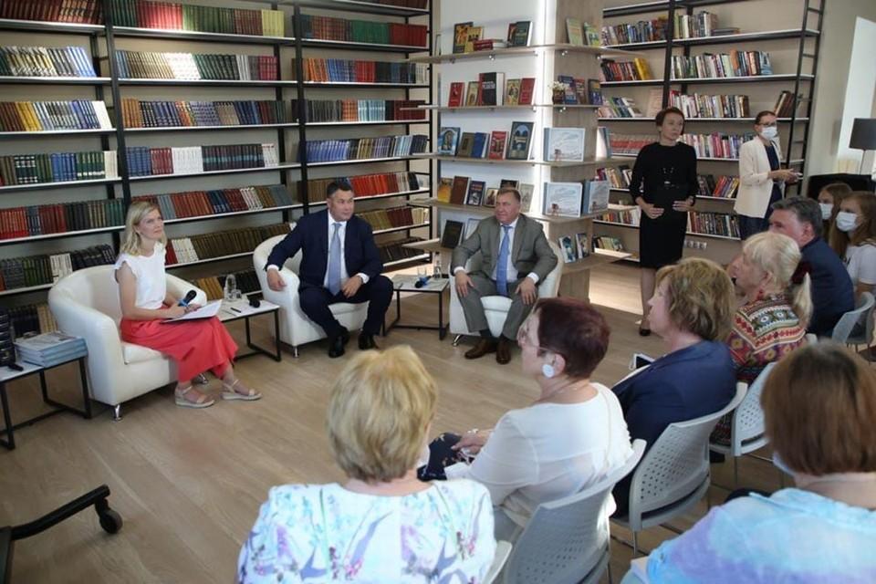 На презентации книги. Фото: Кристина Белякова