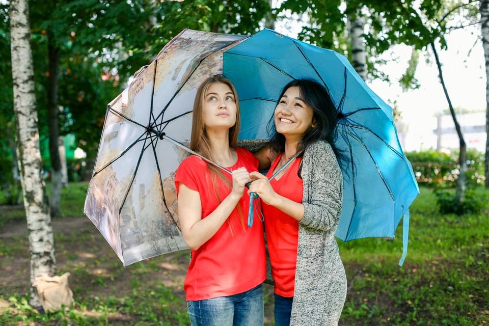 16 июля в Ижевске ожидаются небольшие дожди