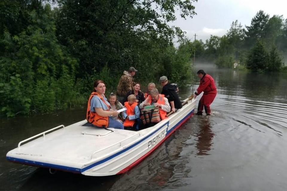 Мощный потоп, которого не помнят даже старожилы, обрушился на Верхнебуреинский район