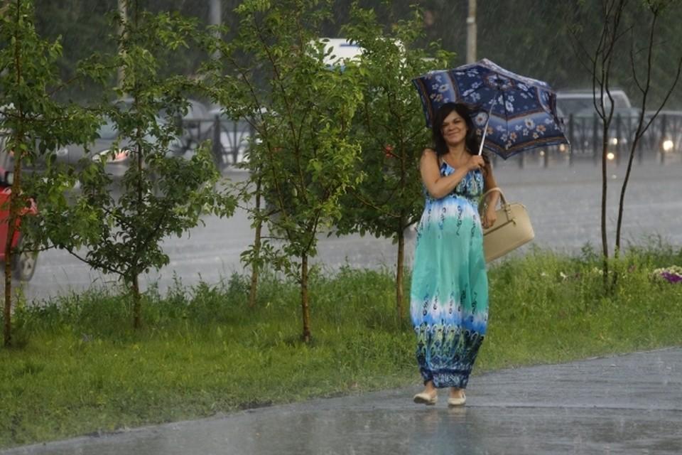 Дожди пройдут лишь в нескольких районах области