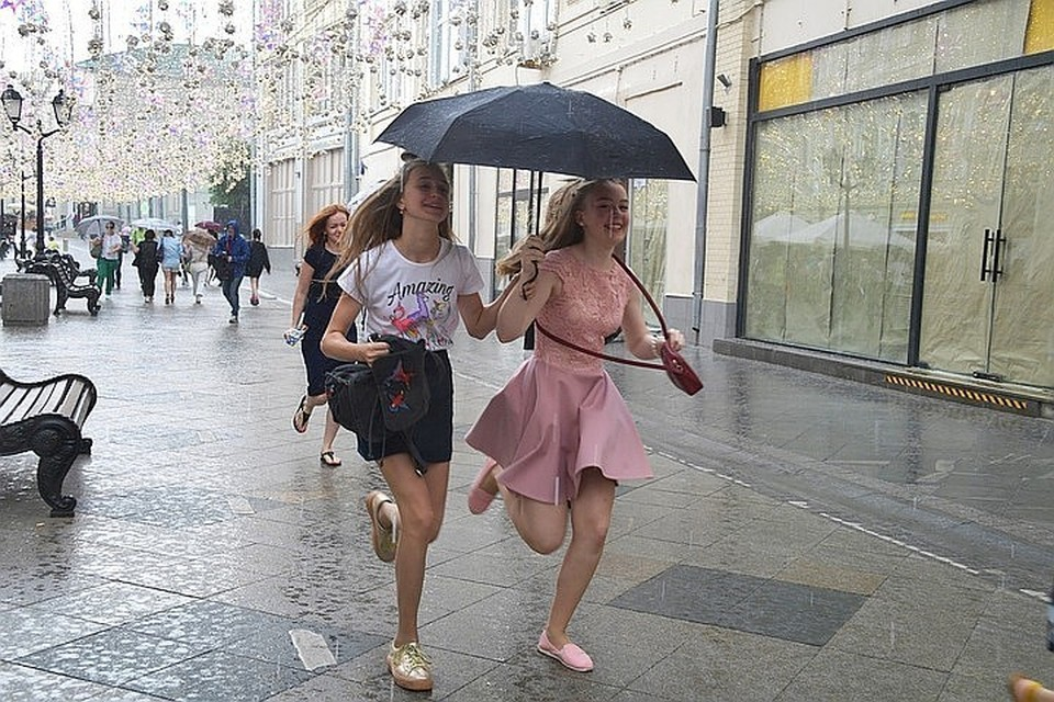 Москвичам пообещали похолодание и дожди