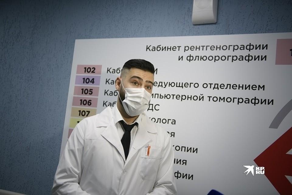 Стойки появятся в поликлиниках Нижнего Тагила, к которым прикреплены более 20 тысяч человек
