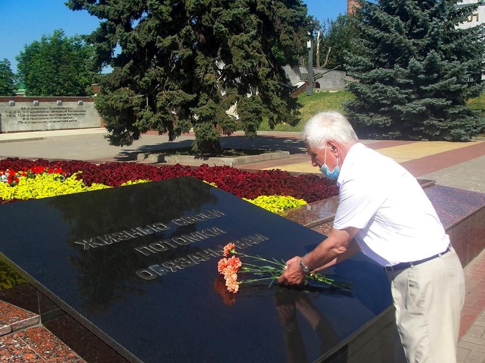 Юрий Шолопин два года по крупицам собирал информацию о месте захоронения своего родителя
