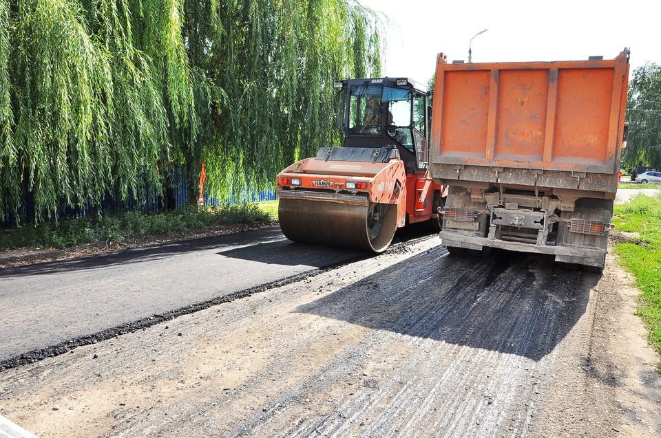 В Кинеле ремонтируют дороги