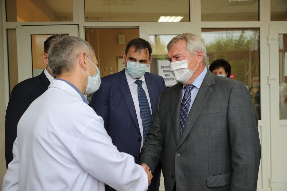 В регионе поздравили лучших медиков Дона. Фото: правительство РО