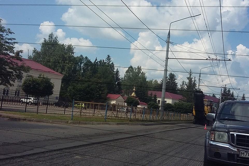 Техника начала работать на проспекте в пятницу, 16 июля.