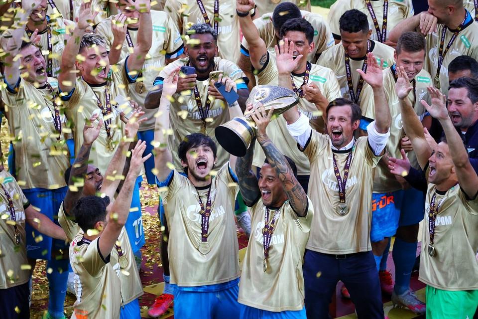 «Зенит» завоевал в Калининграде шестой Суперкубок в своей истории.