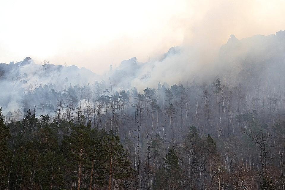 В Иркутской области горит более 30 тысяч гектаров леса