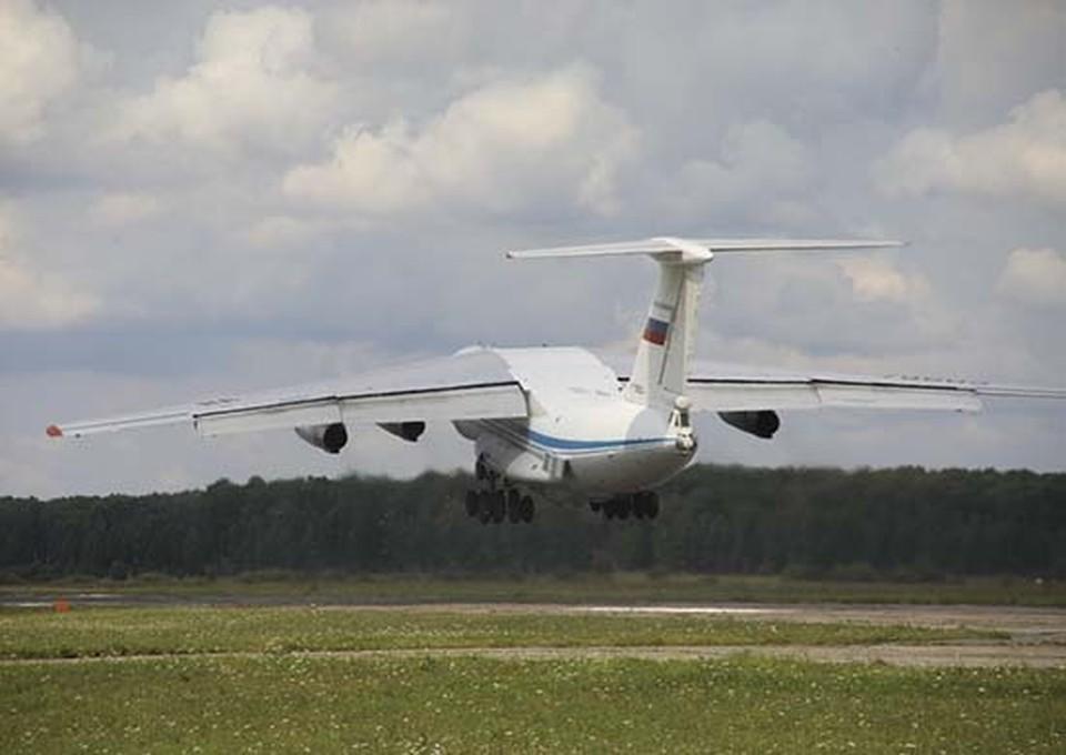 Госпиталь перевезли двумя военно-транспортными самолетами. Фото: пресс-служба ЦВО