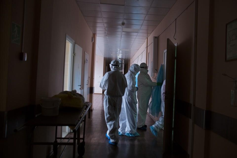 Заболеваемость коронавирусом в Челябинскй области все еще растет