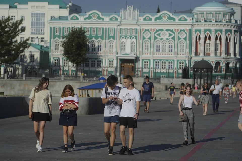 Начало недели в Екатеринбурге будет по-летнему жарким