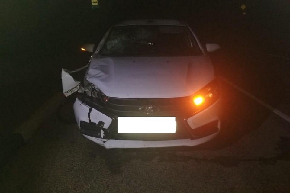 Авария произошла на трассе «Ставрополь - Тоннельный - Барсуковская». Фото: УГИБДД по СК