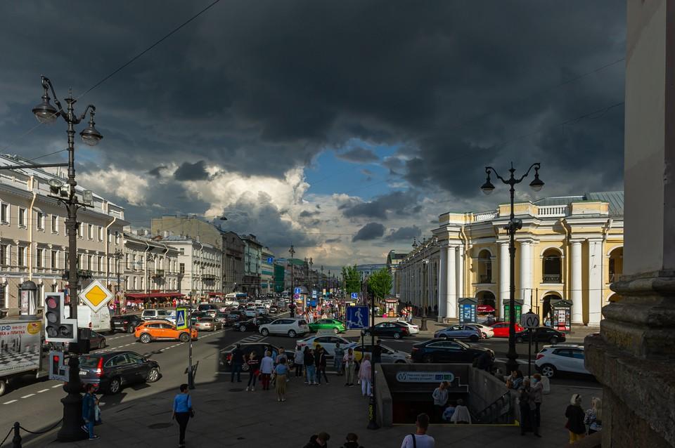 Гроза обрушится на Петербург 20 июля