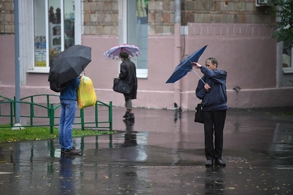 При этом в республике местами продолжат идти дожди и грозы с сильным ветром.