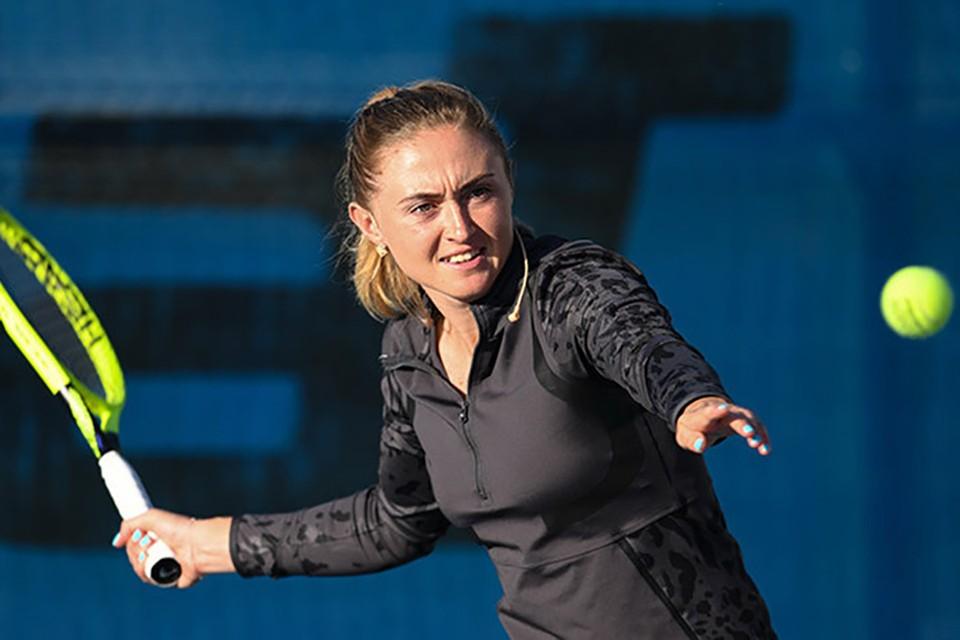 Александра Саснович занимает 101-ю строчку в рейтинге WTA. Фото: WTA