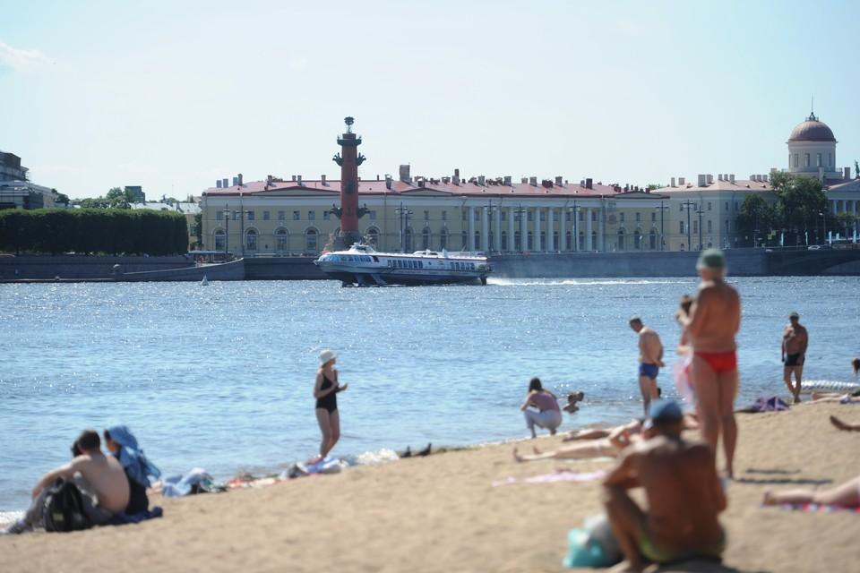 25 июля пляж Петропавловской крепости будет закрыт.