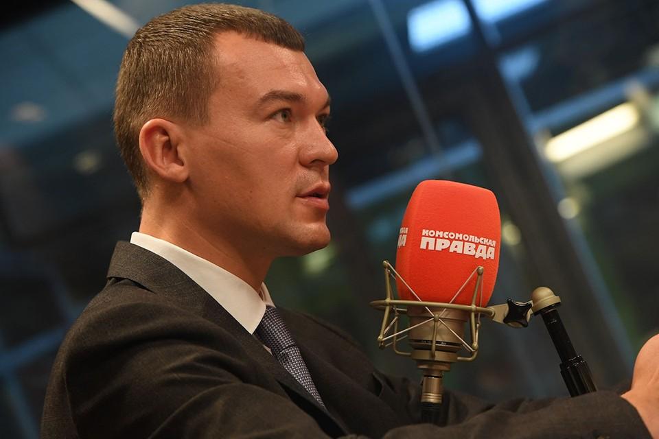 Политик дал эксклюзивное интервью обозревателю kp.ru Александру Гамову