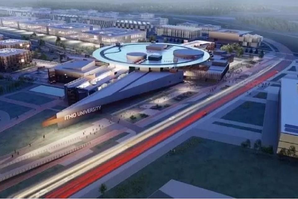 """Хайпарк займет 113 гектаров в городе-спутнике Южный. Фото: Студия 44""""."""